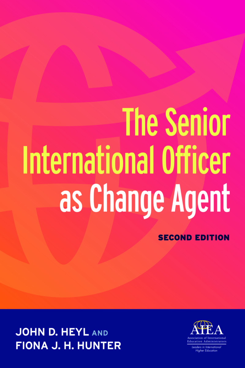 Cover - The SIO as Change Agent Second Edition by John Heyl and Fiona Hunter