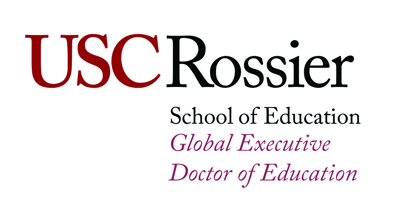 USC Rossier School of Education Global Executive Doctor of Education Logo