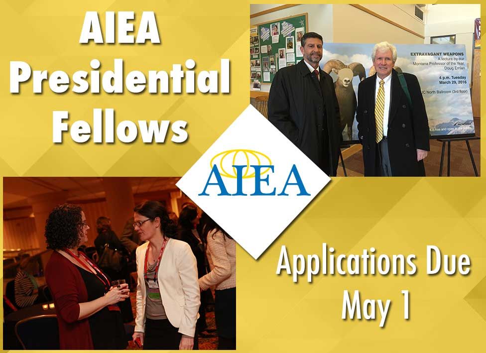 AIEA now accepting applications for Presidential Fellows
