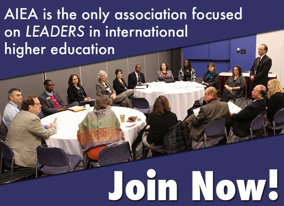 AIEA  - Join Now! Photo: roundtable discussion at annual conference